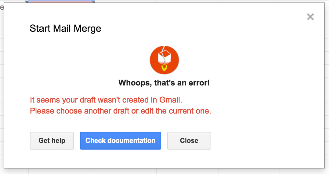 Draft not created in Gmail