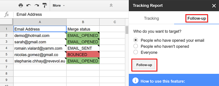 Recover data erased by mistake from your spreadsheet