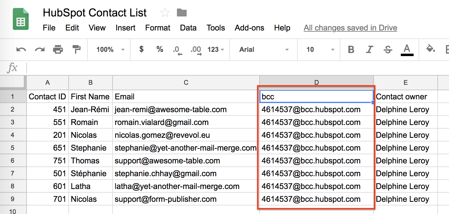 Integrating HubSpot CRM with your Gmail email campaigns