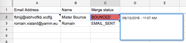 Track bounce rate