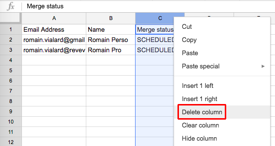 Schedule batch delivery / send emails later – Documentation