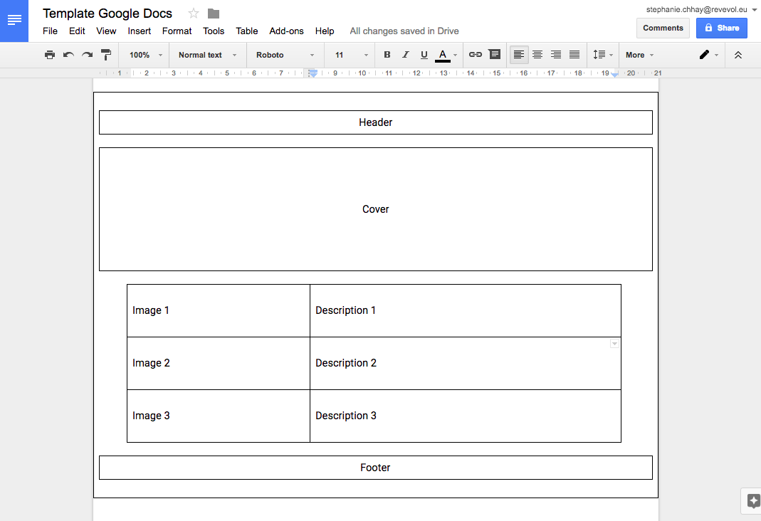 Add Tables To Google Docs
